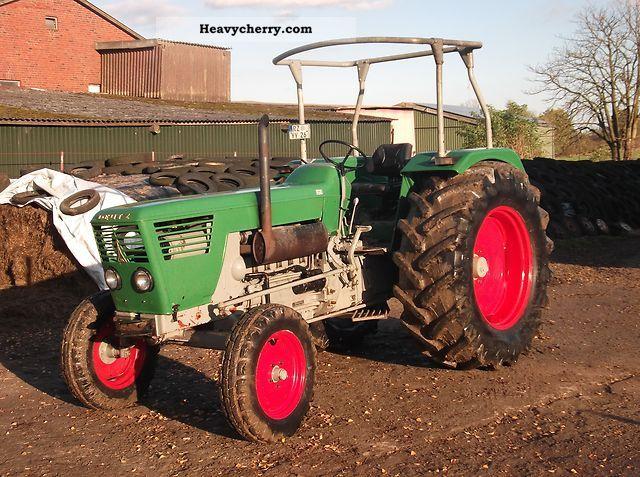 1973 Deutz-Fahr  8006 Agricultural vehicle Tractor photo