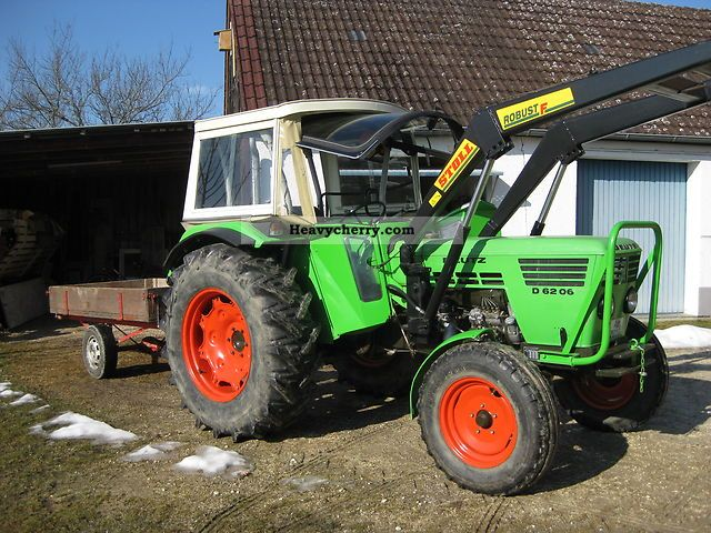 1974 Deutz-Fahr  6206 Agricultural vehicle Tractor photo