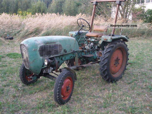 1960 Guldner  Güldner AKN Agricultural vehicle Tractor photo