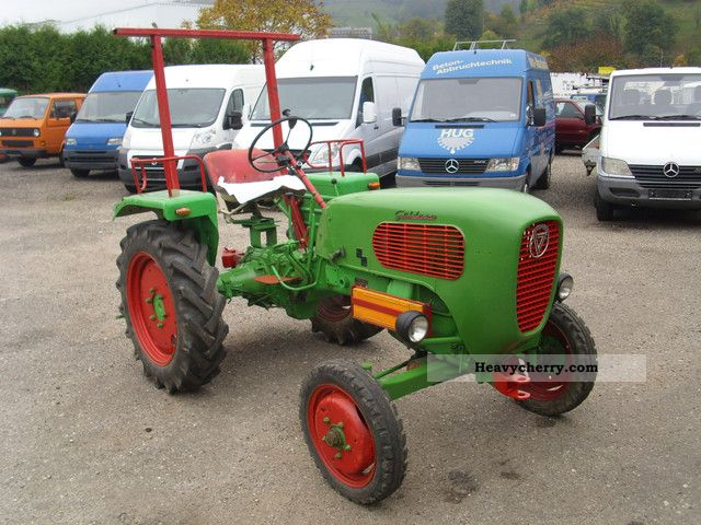 1960 Guldner  Guldner G15, type A2KN, T-iron, PTO, good condition Agricultural vehicle Tractor photo