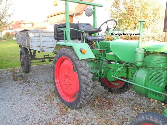 1955 Guldner  Güldner ALD 8H Agricultural vehicle Tractor photo