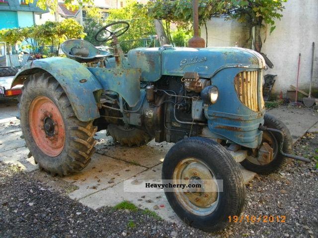 1957 Guldner  Güldner AFN Agricultural vehicle Tractor photo