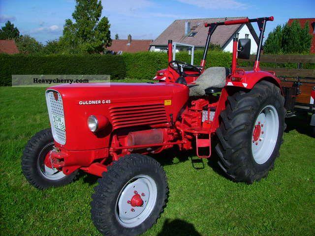 1969 Guldner  Guldner G 45 Agricultural vehicle Tractor photo
