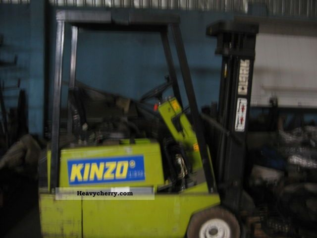 2012 Clark  Electrostivuitor Clark Forklift truck Low-lift truck photo