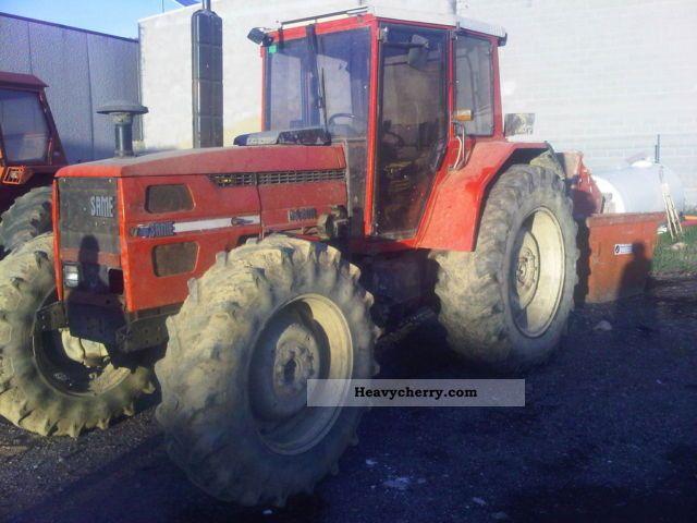 same tractor 110 cv 2012 agricultural farmyard tractor