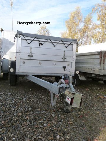 2008 Agados  Used trailer 1000 kg, - like new - Trailer Trailer photo