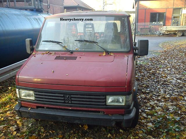 1996 Peugeot  Boxer Van or truck up to 7.5t Stake body photo