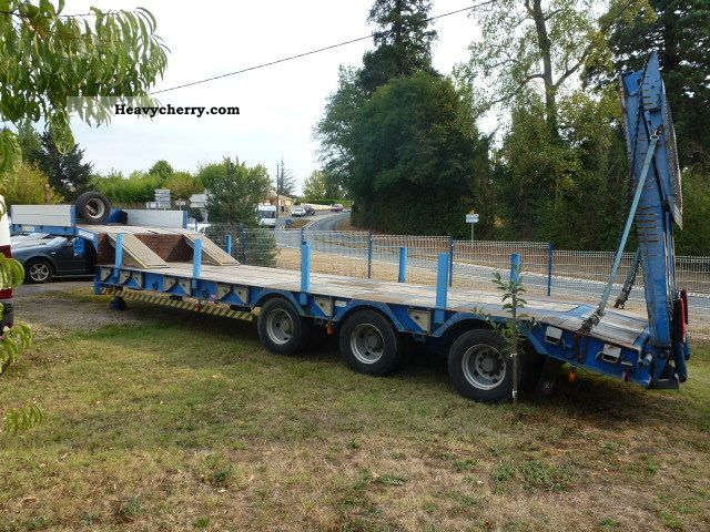2002 Kaiser  ROBUST PORTE ENGIN Semi-trailer Other semi-trailers photo