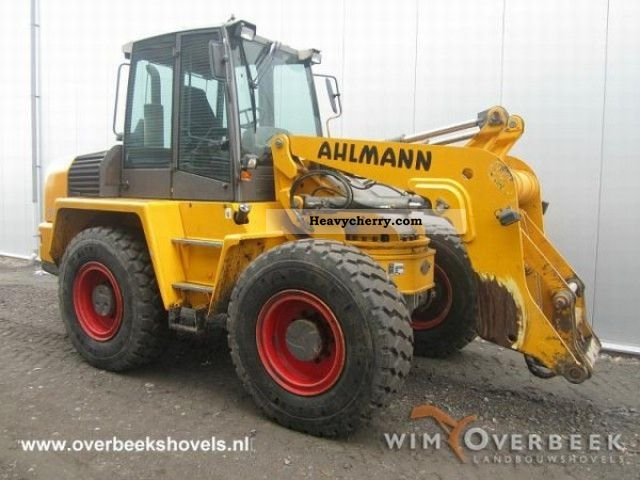 2004 Ahlmann  AZ150 Construction machine Wheeled loader photo
