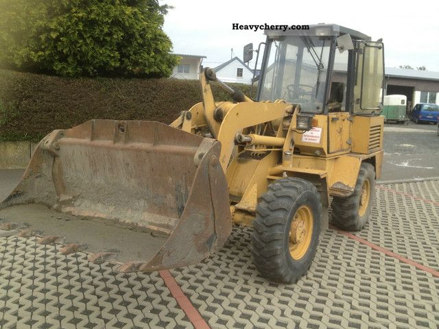 2012 Ahlmann  Jogger GTS 700 cultivated condition Construction machine Wheeled loader photo