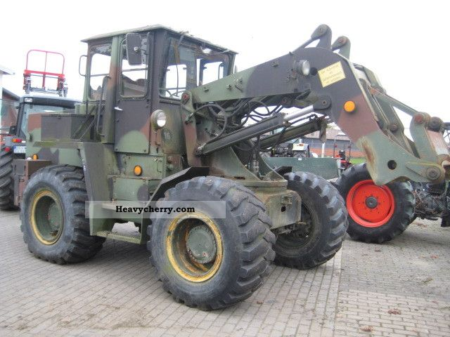 2012 Ahlmann  AS 12B Schwenklader Construction machine Wheeled loader photo