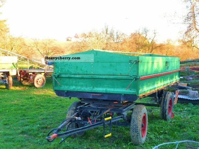 2012 Fortschritt  THK 5 Trailer 2-way tipper Agricultural vehicle Tractor photo