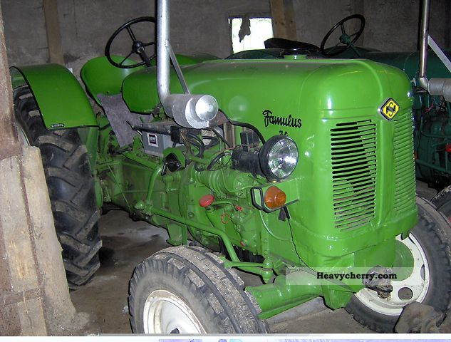 1960 Fortschritt  Famulus RS 36 Agricultural vehicle Tractor photo