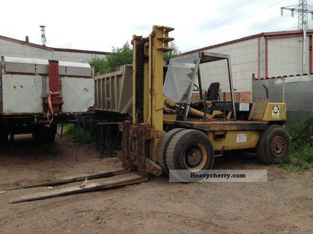 2012 Still  Esslinger 15,000 kg Forklift truck Front-mounted forklift truck photo