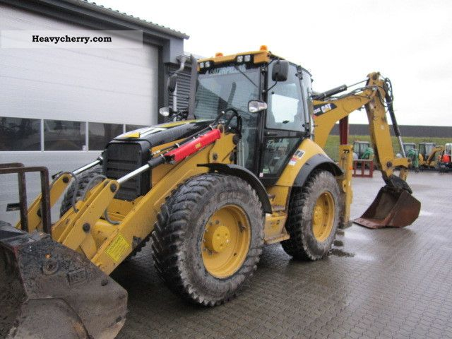2009 CAT  434 E Construction machine Combined Dredger Loader photo
