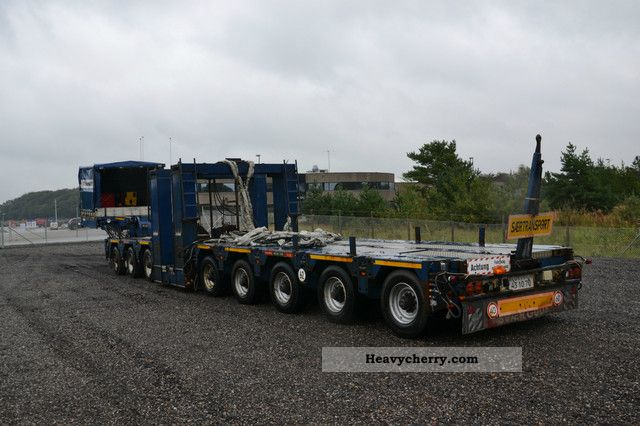 2005 Scheuerle  3 +5 Tower trailer Semi-trailer Long material transporter photo