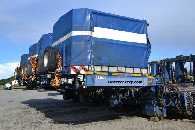 2003 Scheuerle  3 +5 tower adapter for windmill Semi-trailer Low loader photo