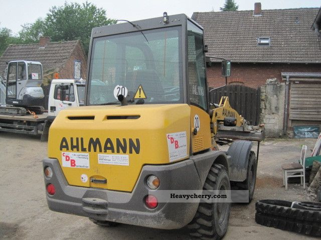 2005 Ahlmann  AL100 Construction machine Wheeled loader photo