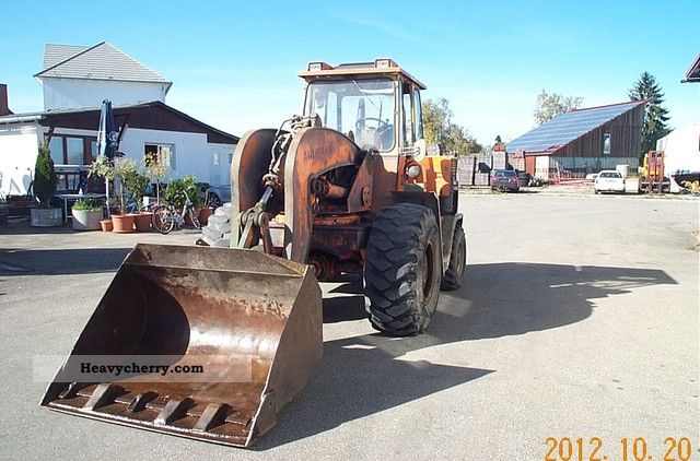 1970 Ahlmann  A69 Construction machine Wheeled loader photo