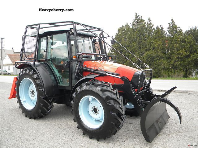 Same Explorer 3 85 Dt Hydrive Forestry Tractor 2009