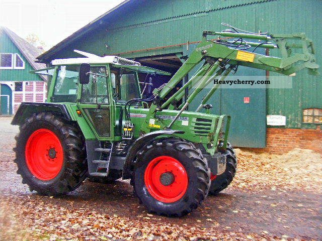 1992 Fendt  312 A front loader + air Agricultural vehicle Tractor photo