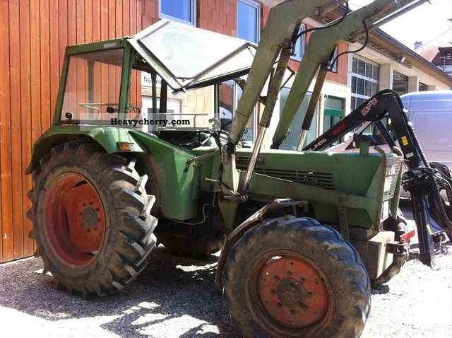 1977 Fendt  108S Turbomatik wheel Agricultural vehicle Tractor photo