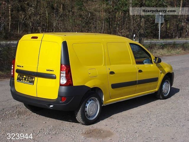 dacia logan van 1 5 dci 2011 other vans trucks up to 7 photo and specs. Black Bedroom Furniture Sets. Home Design Ideas