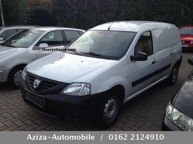 dacia logan express 2010 box type delivery van photo and specs. Black Bedroom Furniture Sets. Home Design Ideas