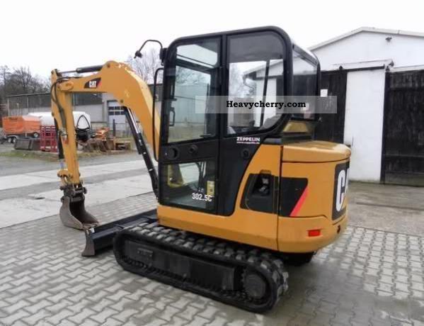 2008 CAT  302.5C Construction machine Mini/Kompact-digger photo