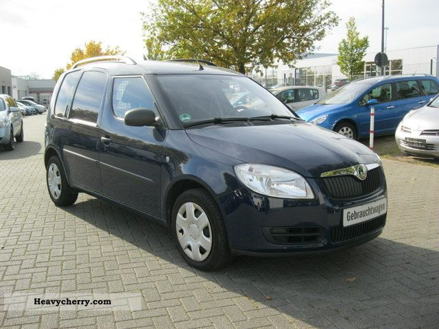 skoda roomster 1 4 tdi dpf 5trg practice 2008 other vans trucks up to 7 photo and specs. Black Bedroom Furniture Sets. Home Design Ideas