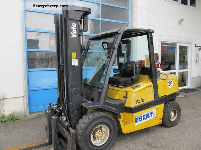 Yale GLP 45 MJ E2614 2004 Front-mounted forklift truck Photo