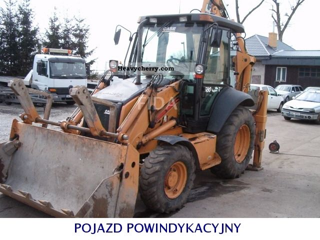 2006 Case  580 SUPER R Krajowa Construction machine Mobile digger photo