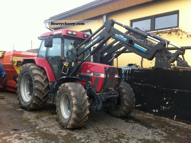 1997 Case  5120 Agricultural vehicle Tractor photo