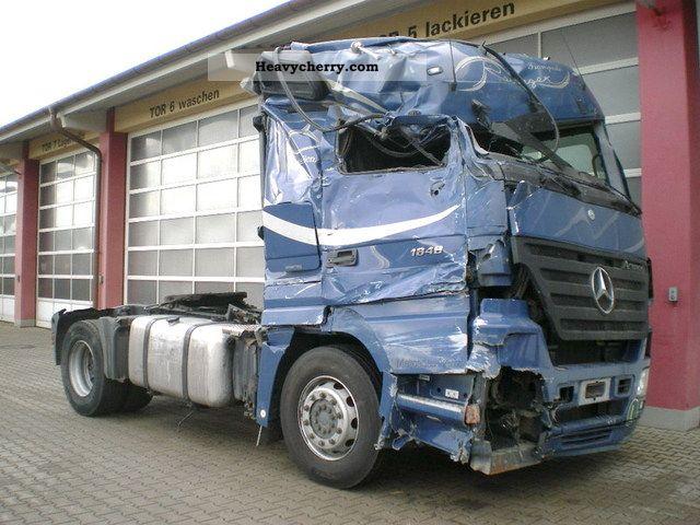 Mercedes Benz Actros 1848 Ls 2007 Standard Tractor Trailer