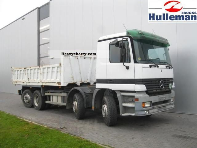 2002 Mercedes-Benz  ACTROS 3236 8X2 EURO 3 Truck over 7.5t Chassis photo