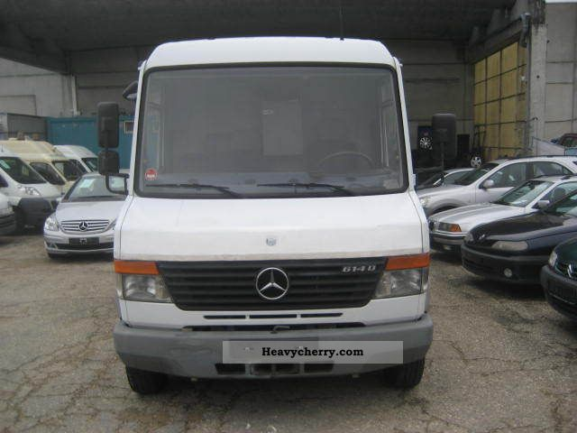 1998 Mercedes-Benz  614 Van or truck up to 7.5t Box-type delivery van - high and long photo