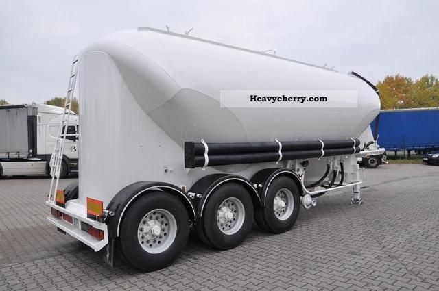 25k Lift Axle For Trailer : Spitzer m ³ silo cement lift axle semi