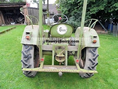 1956 Lanz  D 112 Agricultural vehicle Tractor photo