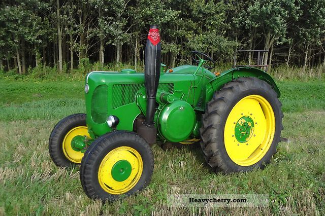 1959 Lanz  D 4016 Agricultural vehicle Tractor photo