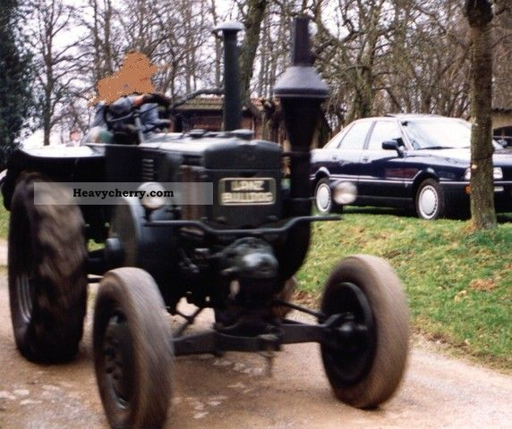 1938 Lanz  8506 Agricultural vehicle Tractor photo