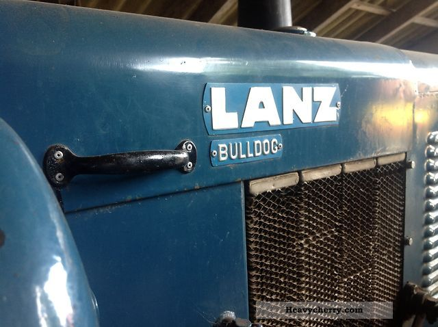 1955 Lanz  5006 50hp diesel half Agricultural vehicle Tractor photo