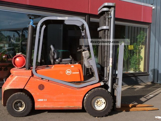 2002 BT  CBG 3.5 Forklift truck Front-mounted forklift truck photo