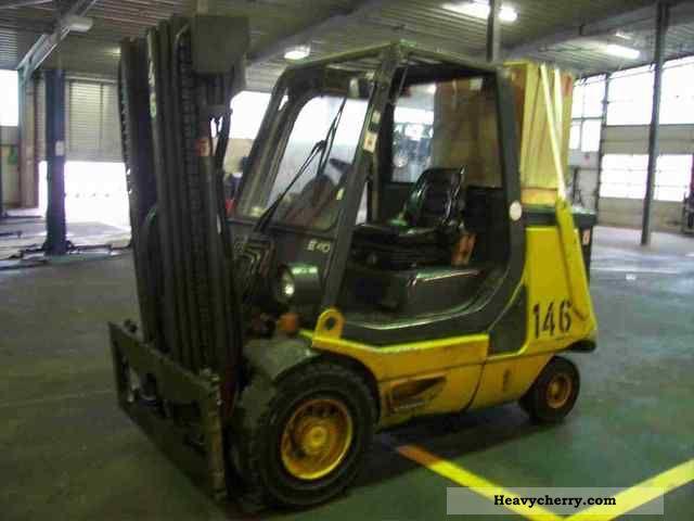 1997 Linde  E 40 P Forklift truck Front-mounted forklift truck photo