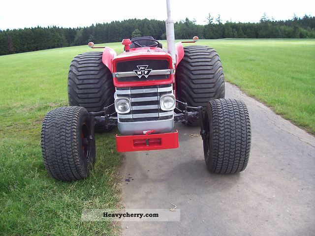 1968 Agco / Massey Ferguson  mf 133 Agricultural vehicle Tractor photo