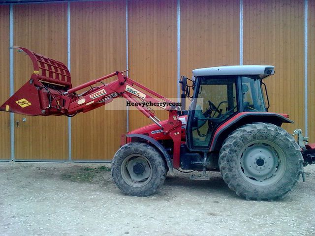 2003 Agco / Massey Ferguson  4345 Agricultural vehicle Tractor photo