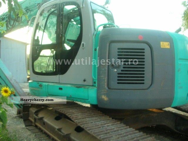 2003 Kobelco  SK 235 Construction machine Caterpillar digger photo