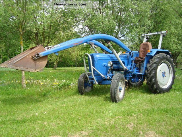 1962 Guldner  Guldner G 35 Agricultural vehicle Tractor photo