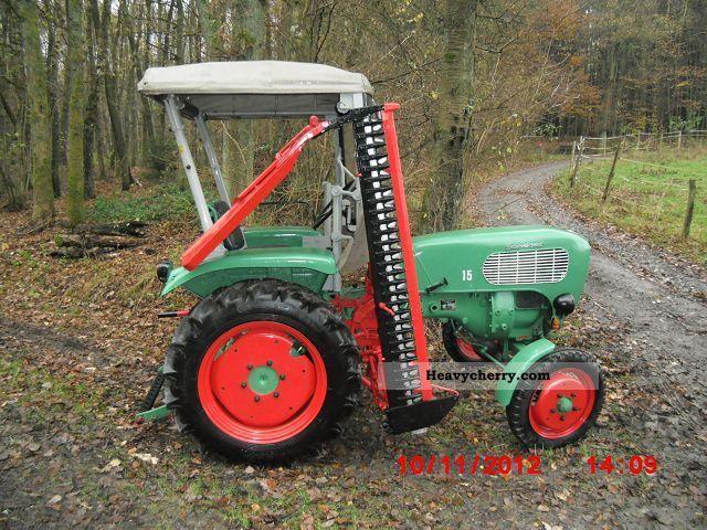 1959 Guldner  Güldner A 2 K Agricultural vehicle Tractor photo