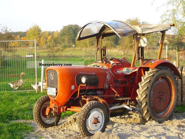 1963 Guldner  Güldner Burgundy Agricultural vehicle Farmyard tractor photo