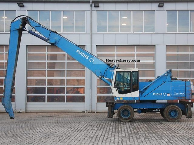2000 Fuchs  MHL350 Construction machine Mobile digger photo